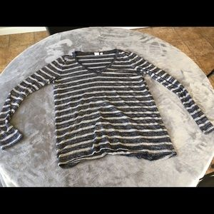 GAP Striped Long Sleeve Shirt (NEW)